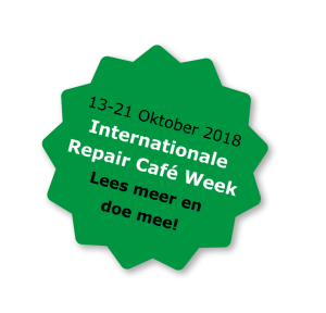 Internationale Repair Café Week 2018